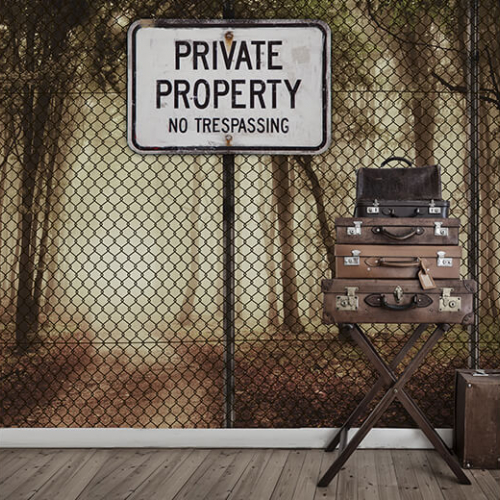 Фотообои Private property