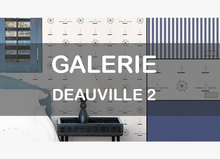 Рулонные обои GALERIE DEAUVILLE 2 COLLECTION