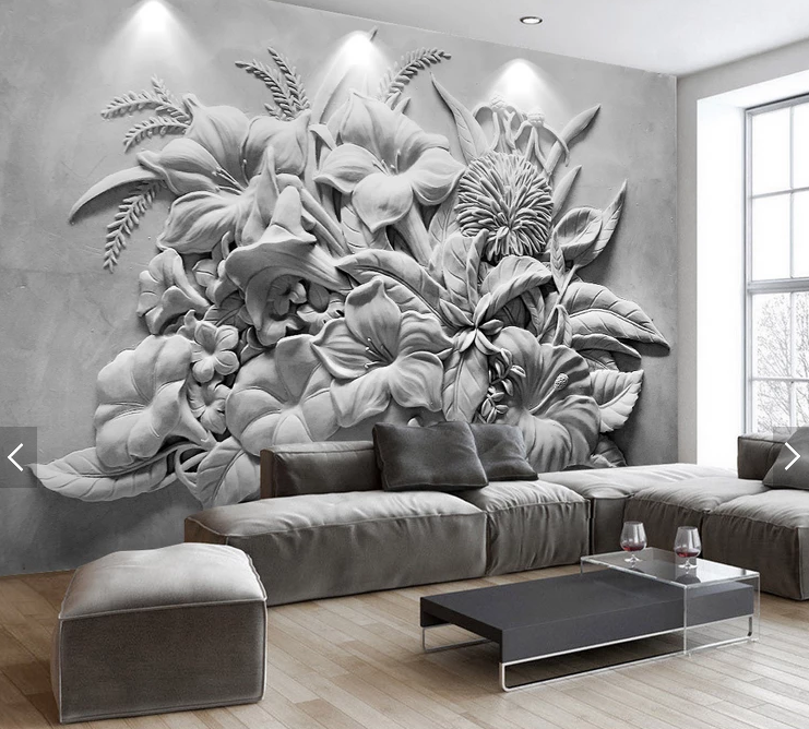 Custom print 3d wall mural wallpaper